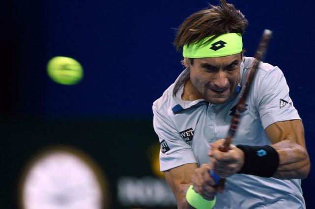 David Ferrer... (Photo WANG ZHAO, AFP)