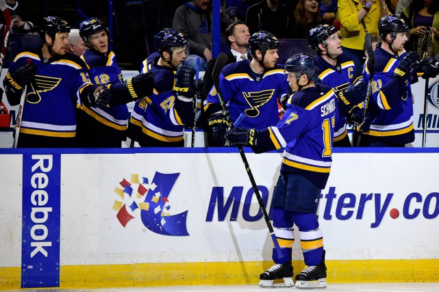 Jaden Schwartz... (Photo Jasen Vinlove, archives USA TODAY Sports)