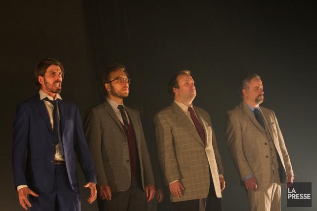 Five Kings- L'histoire de notre chute est présenté... (PHOTO IVANOH DEMERS, ARCHIVES LA PRESSE)