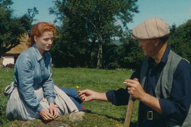 Maureen O'Hara et John Wayne dans une scène... (Fournie par Paramount)