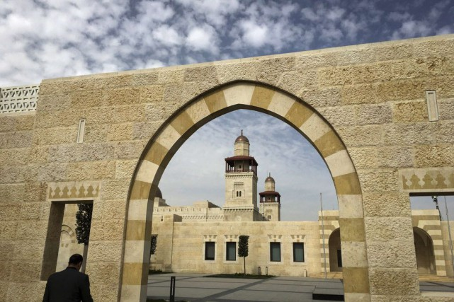 La palais du roi Salmane d'Arabie saoudite.... (Photo Carlo Allegri, AFP)