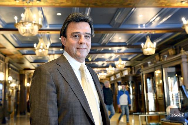 En poste à Québec depuis 2007, Robert Mercure... (Le Soleil, Patrice Laroche)