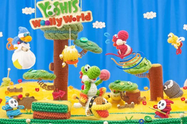 Le jeu Yoshi Wooly World plaira aux débutants...