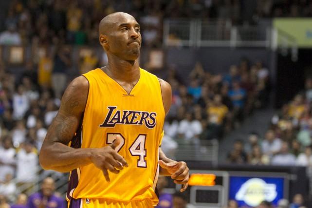 Kobe Bryantn'a disputé que 119 matchs sur 246... (PHOTO MARCO GARCIA, ARCHIVES AP)