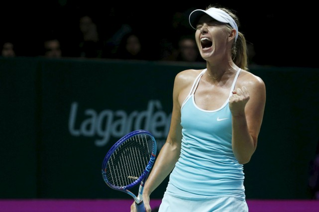 Maria Sharapova... (PHOTO EDGAR SU, REUTERS)