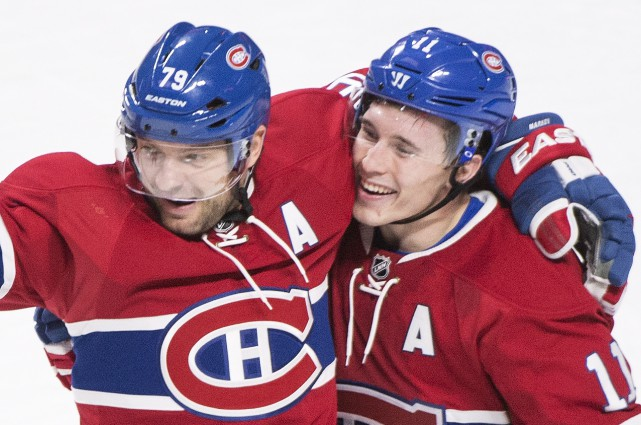 Comme le reste de l'équipe, Andrei Markov et... (La Presse Canadienne, Graham Hughes)