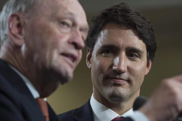 Jean Chrétien espère que Justin Trudeau va entretenir... (Photo archives La Presse Canadienne)