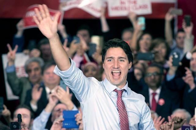 Justin Trudeau s'était prononcé durant la campagne électorale... (La Presse Canadienne, Adrian Wyld)