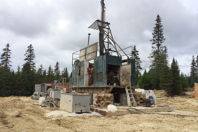 Les forages avec fracturation devraient débuter en 2016.... (Photo fournie par Hydrocarbures Anticosti)