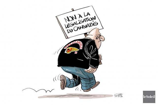 Caricature du lundi 26 octobre 2015... (Le Soleil, André-Philippe Côté)
