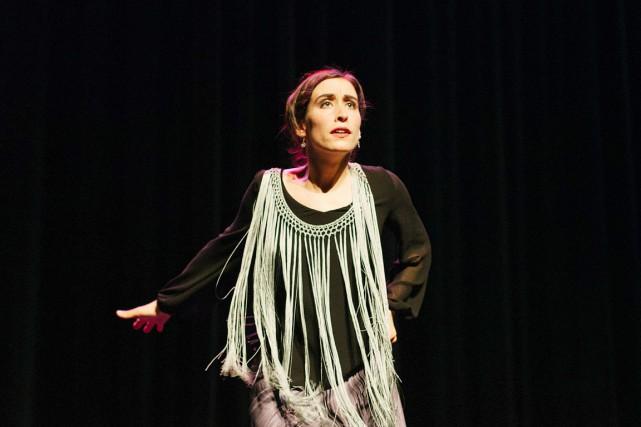 Myriam Allard est tombée amoureuse du flamenco dès... (Sarah Scott)
