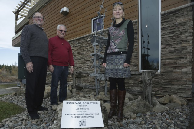 Le Centre d'interprétation de la nature du lac Boivin (CINLB) a inauguré une... (photo Catherine Trudeau)
