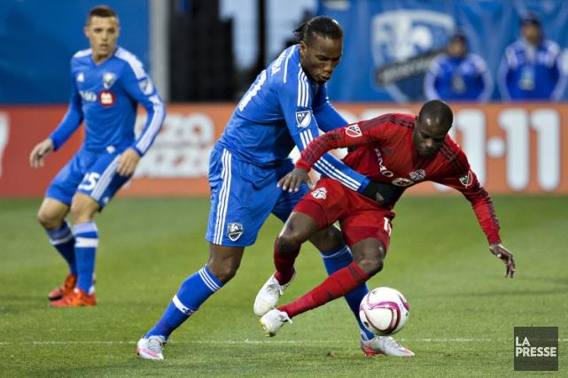 Didier Drogba a poursuivi sur sa lancée des... (PHOTO OLIVIER JEAN, LA PRESSE)