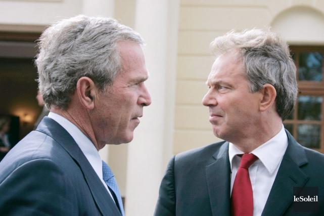 Le 43e président des États-Unis, George W. Bush,... (Archives, Le Soleil)