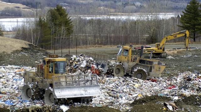 Le lieu d'enfouissement de Casella Waste Systems à... (Courtoisie)