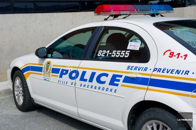 Le Service de police de Sherbrooke (SPS) met en garde la population contre des... (La Tribune, archives)