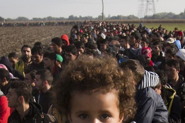 L'urgence s'accroit à l'approche de l'hiver. Amnesty International... (Photo AP)