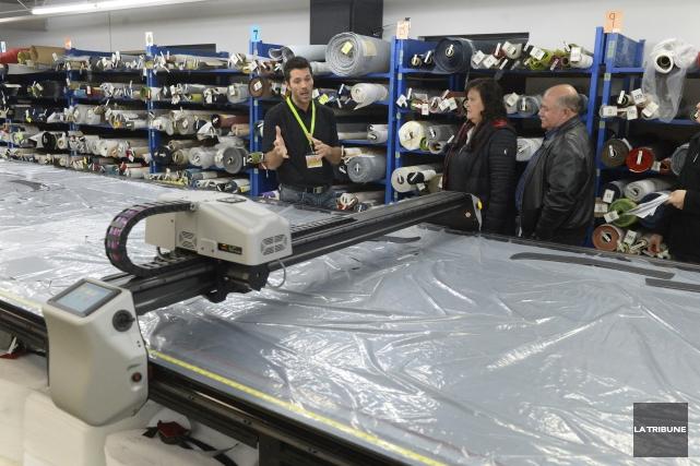 Au total, 16 entreprises manufacturières de Sherbrooke ont... (Imacom, Maxime Picard)