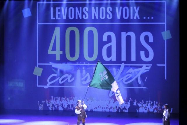Le spectacle L'Écho d'un peuple, présenté depuis 2004,... (Charles-Antoine Rouyer, collaboration spéciale)