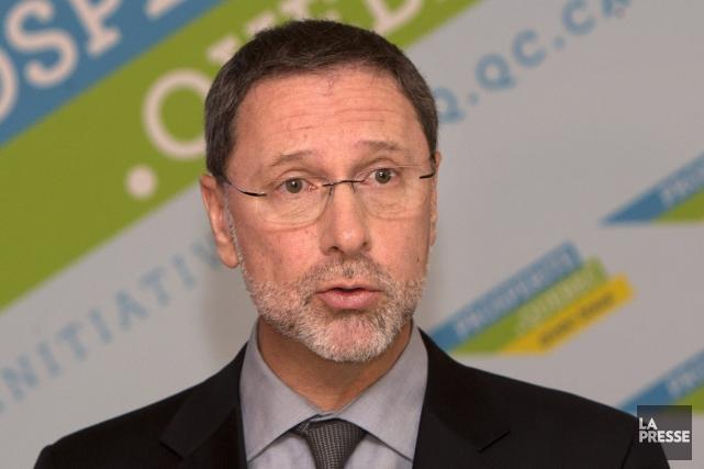 Yves-Thomas Dorval, président-directeur général du Conseil du patronat... (Archives La Presse)