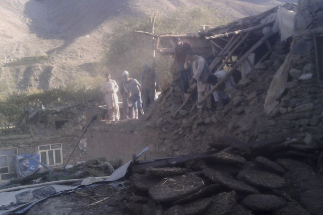 Des résidents de la province de Panjshir, en... (Agence France-Presse)