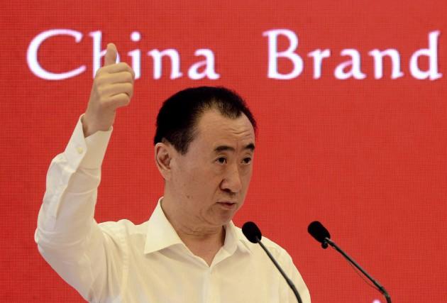 Wang Jianlin est passé de la quatrième à... (PHOTO ARCHIVES AFP)