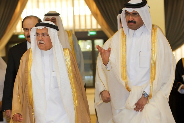 Les pays de l'OPEP ont contribué à la... (Photo AFP)