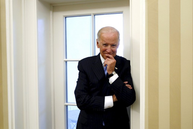 Le vice-président américain Joe Biden.... (PHOTO KEVIN LAMARQUE, ARCHIVES REUTERS)