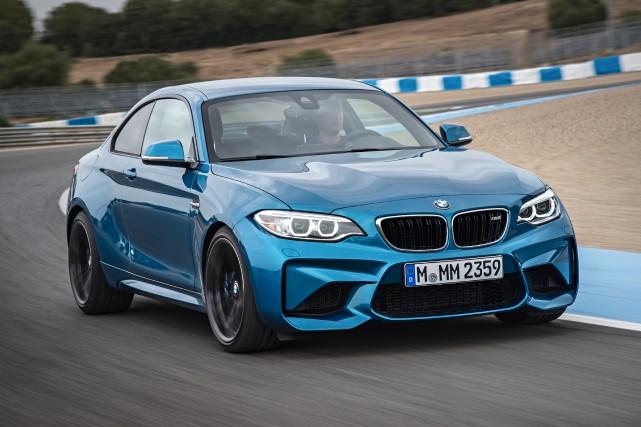 La BMW M2 sera offerte sur le marché... (PHOTO FOURNIE PAR BMW)