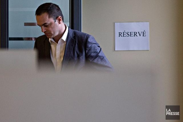 Guy Turcotte, lors de son procès.... (Photo Patrick Sanfaçon, archives La Presse)