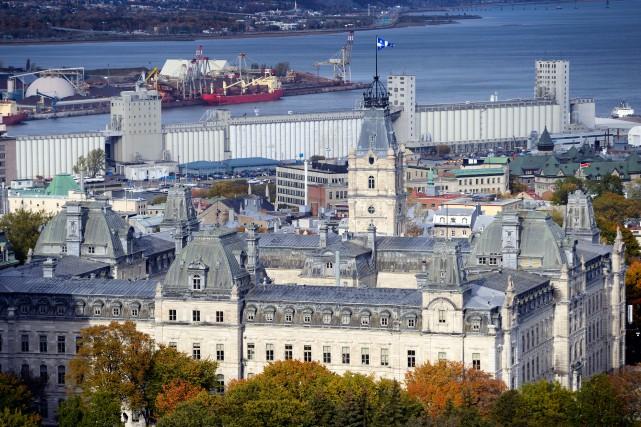 «Alors que le programme québécois de places de... (PHOTO BERNARD BRAULT,LA PRESSE)