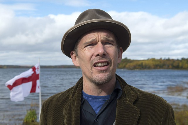 Ethan Hawke... (PHOTO LA PRESSE CANADIENNE)