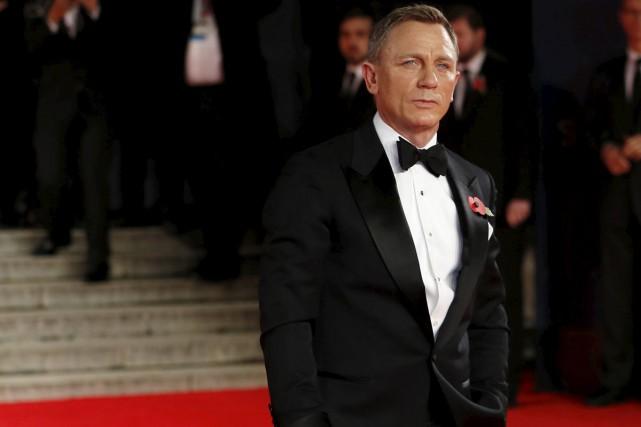 Daniel Craig à la première de Spectre à... (PHOTO REUTERS)