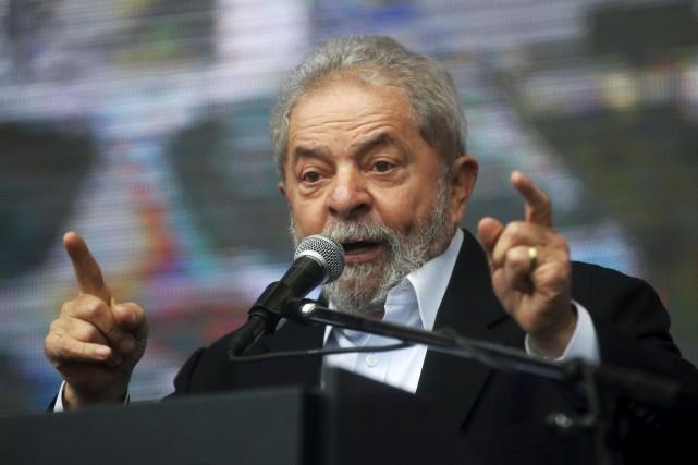 L'ex-président du Brésil, Luiz Inacio Lula da Silva.... (PHOTO ENRIQUE MARCARIAN, archives REUTERS)