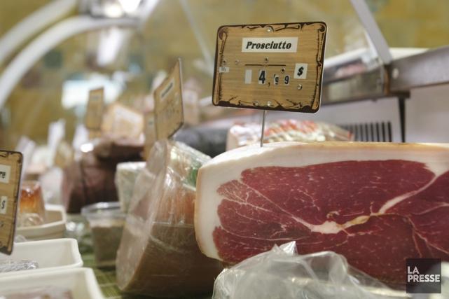 Le bacon, les hot dogs, les charcuteries et... (archives La Presse)