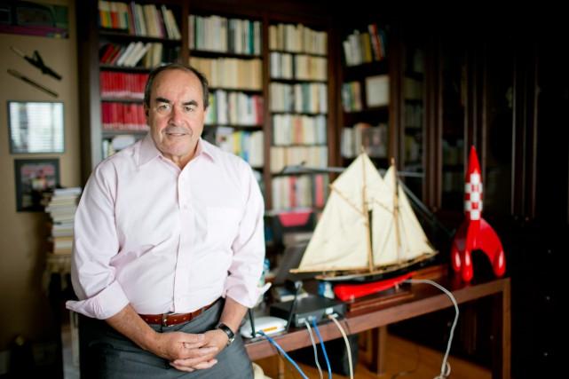 L'ex-journaliste de Radio-Canada Jean-François Lépine est maintenantassocié-fondateur d'Avistra... (PHOTO DAVID BOILY, LA PRESSE)