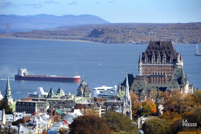 La 15e Journée maritime québécoise, qui se déroule... (Bernard Brault, La Presse)