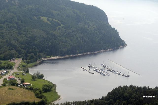 Le Saguenay prend sa source dans le lac... (Archives Le Quotidien, Jeannot Lévesque)