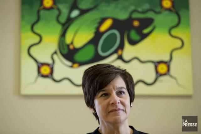 La directrice du Centre d'amitié autochtone, Édith Cloutier,... (Archives, La Presse)