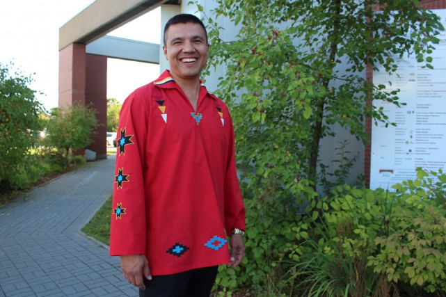 Constant Awashish, grand chef de la communauté atikamekw....