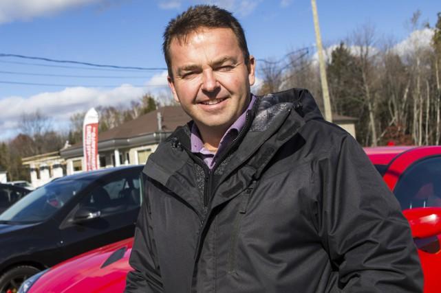 Le propriétaire de Gervais Auto, Daniel Gervais, doit... (Photo: Olivier Croteau)