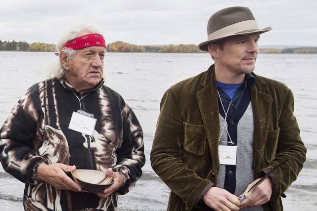 Ethan Hawke (à droite) a accepté de participer... (Photo: La Presse Canadienne)
