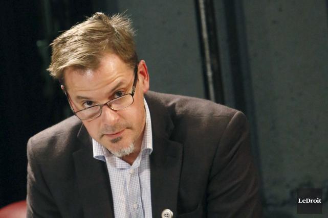 Le conseiller du district Buckingham, Martin Lajeunesse... (Simon Séguin-Bertrand, LeDroit)
