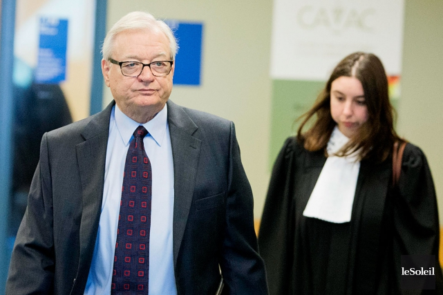 L'ex-maire de Laval, Gilles Vaillancourt... (Photothèque Le Soleil)