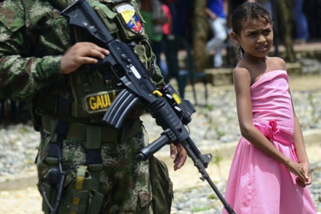 Selon un expert, «le conflit entre l'ELN et... (ARCHIVES AFP)