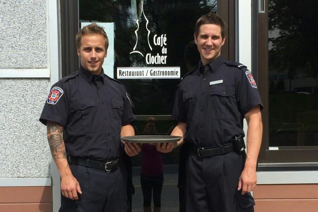 Les pompiers d'Alma se transformeront en serveurs d'un... (Photo courtoisie)