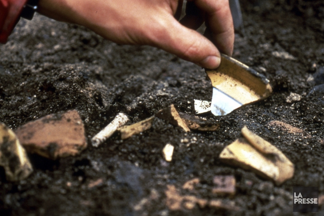 Un tombe d'un guerrier a été découverte dans... (archives La Presse)