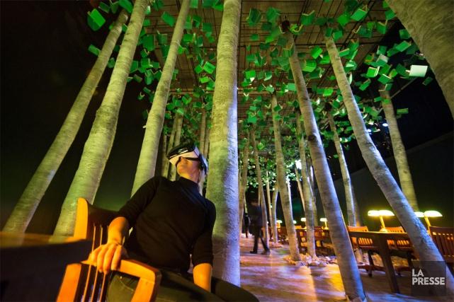 L'exposition La bibliothèque, la nuit est présentée à... (PHOTO ROBERT SKINNER, LA PRESSE)