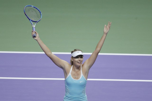 Maria Sharapova... (PHOTO Jeremy Lee  Livepic, Reuters)