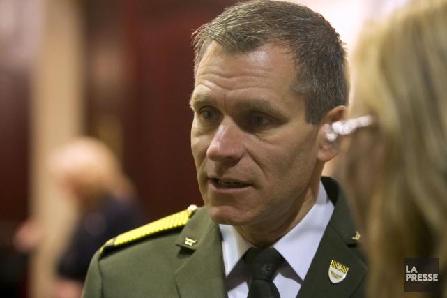 MartinPrud'homme a reconnu que le corps de police... (Photothèque La Presse)